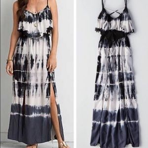 American Eagle Tie Dye Maxi Dress